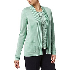 Eastex - Pleat Detail Cardigan