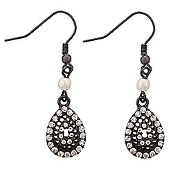 Jacques Vert - Teardrop stone earrings