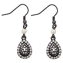 Jacques Vert - Teardrop stone earrings