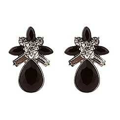 Jacques Vert - Diamante flower earrings