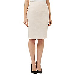 Precis Petite - Ivory Tweed Skirt
