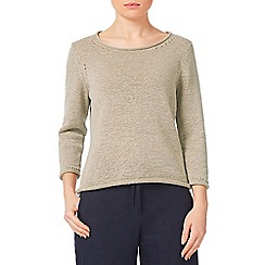 Precis - Tape Yarn Beige Jumper