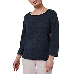Precis - Tape Yarn Navy Jumper
