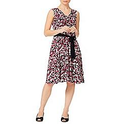Precis - Spot Cowl Jersey Dress