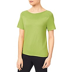Precis - Lime Bardot Top
