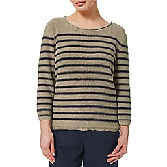 Precis - Stripe Tape Yarn Jumper