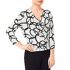 Precis Petite - Jeff Banks Circle Print Top