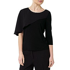 Precis - Jeff Banks Black Cape Top