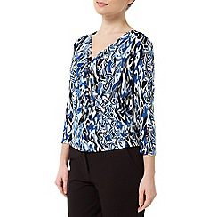 Precis - Jeff Banks Scribble Print Top
