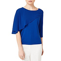 Precis - Jeff Banks Blue Cape Top