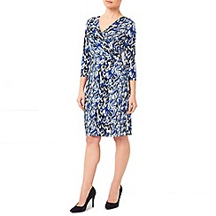 Precis Petite - Jeff Banksscribble Print Dress