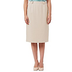 Eastex - Basket Weave Pencil Skirt