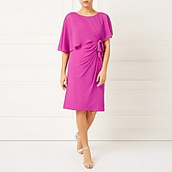 Jacques Vert - Lorcan Bow Sided Capelet Dress