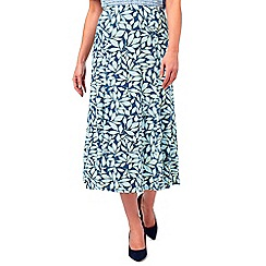 Eastex - Chelsea Leaf Jersey Skirt