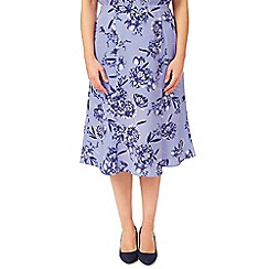 Eastex - Wisteria Floral Skirt