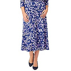 Eastex - Mayfair Blossom Jersey Skirt