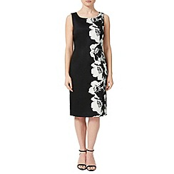 Precis - Mono Floral Shift Dress