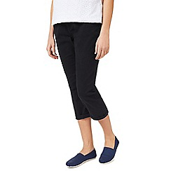 Dash - Navy Crop Trouser