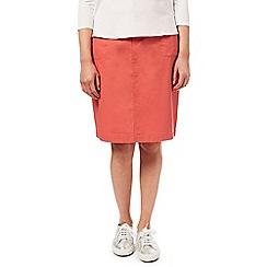 Dash - Coral Chino Skirt
