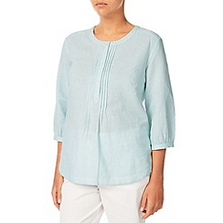 Dash - Stripe Linen Blouse