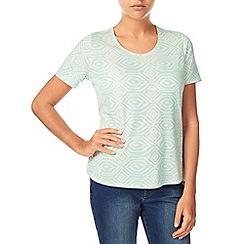 Dash - Ikat Print Cotton Modal Top