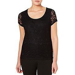 Windsmoor - Black Lace Top