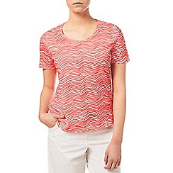 Dash - Zig Zag Cotton Modal Top