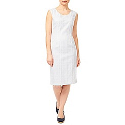 Precis - Textured Shift Dress