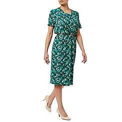 Eastex - Painterley Leaf Jersey Dress