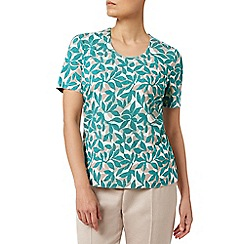 Eastex - Dotty Layered Leaf Top