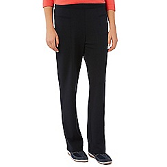 Dash - Black Interlock Jogger Petite