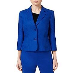 Precis - Cobalt Linen Classic Jacket