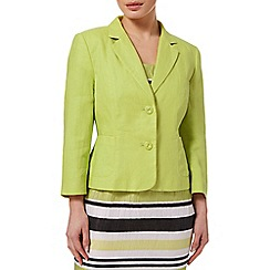 Precis - Lime Linen Jacket
