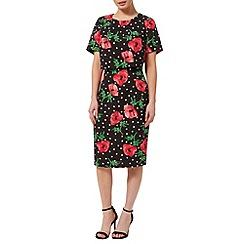 Precis - Double Layer Poppy Spot Dress