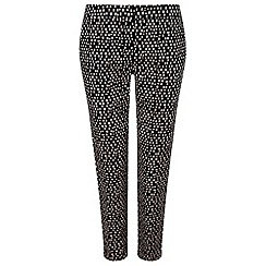 Precis - Squares Cotton Sateen Trouser
