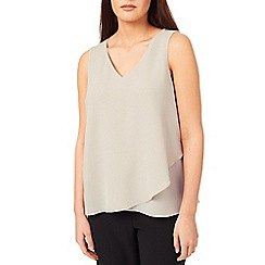 Windsmoor - Woven Jersey Layered Top