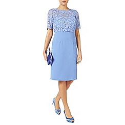 Jacques Vert - Embroidered Layer Crepe Dress