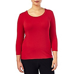 Windsmoor - Red Stitch Detail Top