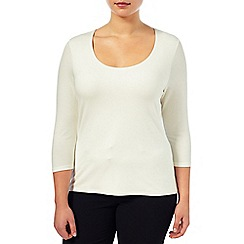 Windsmoor - Ivory Stitch Detail Top
