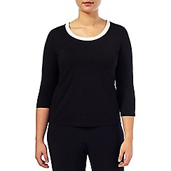 Windsmoor - Contrast Neck Trim Top