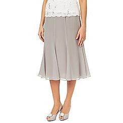 Jacques Vert - Grosgrain Trim Chiffon Skirt