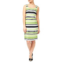Precis - Crinkle Stripe Dress