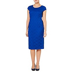 Windsmoor - Cobalt Lace Shift Dress