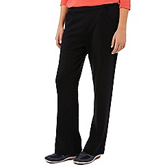 Dash - Black Interlock Regular Jogger