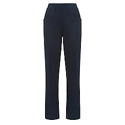 Dash - Navy Interlock Regular Jogger