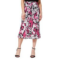Precis - Linen Printed Skirt