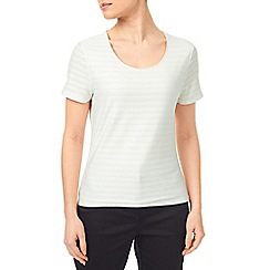 Precis - Ivory Textured Top