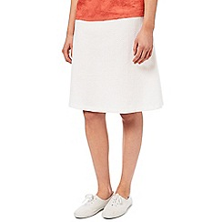 Dash - White Broidery Skirt