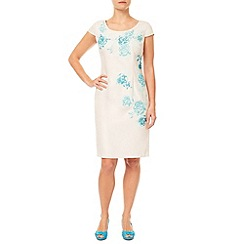 Jacques Vert - Petite Embroidered Shift Dress