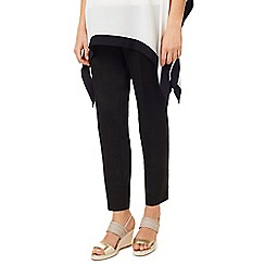 Jacques Vert - Cotton Sateen Cropped Trouser